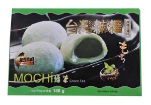 Mochi kulki ryżowe nadziewane zieloną herbatą 180 g Wasabi Sushi Shop Wrocław azjatycki sklep z produktami i akcesoriami do sushi i kuchni orientalnej